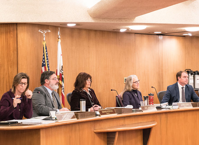 2019 Board of Supervisors in session