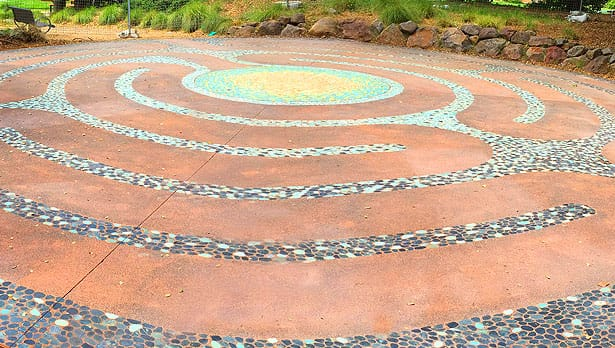 Hal Brown Park labyrinth