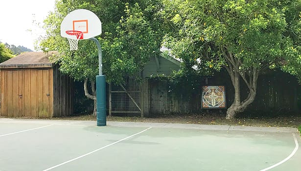 Village Green Park basketball court