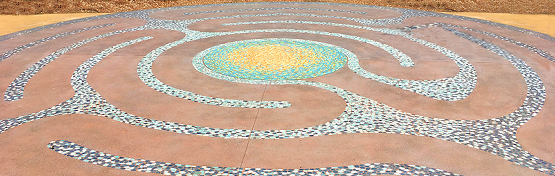 Mosaic labyrinth